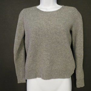 Theory jumper sweater 100% Cashmere XS Gray Crew